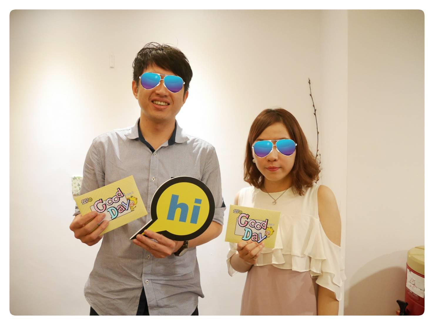 恭喜黃先生、郭小姐配對成功!