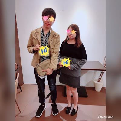 恭喜徐先生、林小姐配對成功